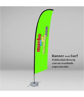 BANDERA BANNER SURF